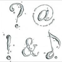 water_symbol_vector_157023