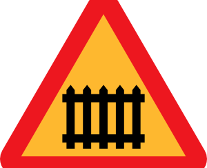 Fence_Gate_Roadsign_clip_art_medium