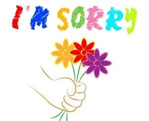 סליחה עם פרחים2