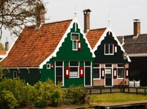 בתים שכנים