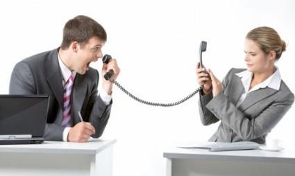 לכעוס בטלפון זוג