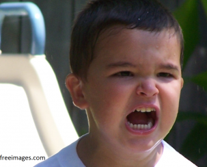 ילד כועס
